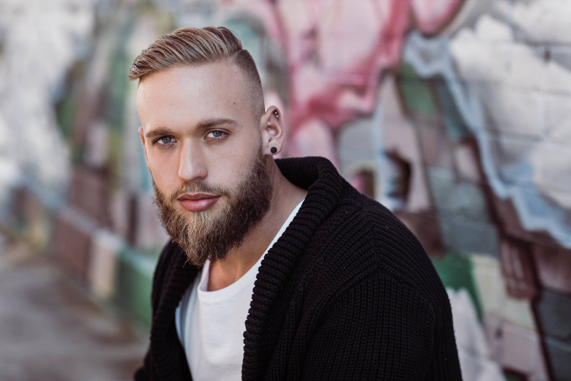 male portrait - fashion and outfit photographer in melbourne