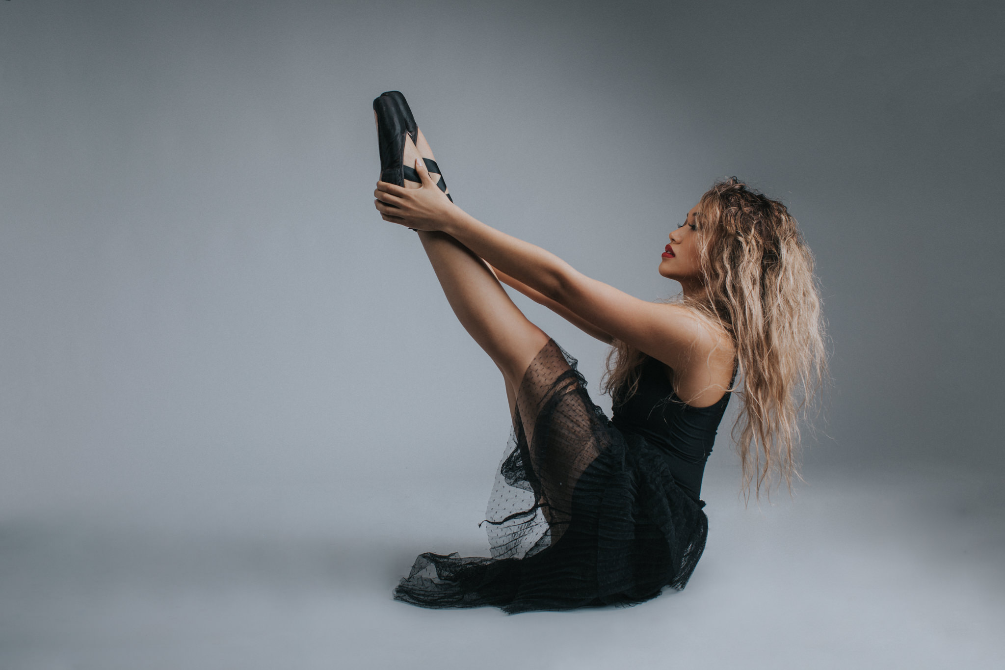 dance poses by female dancer