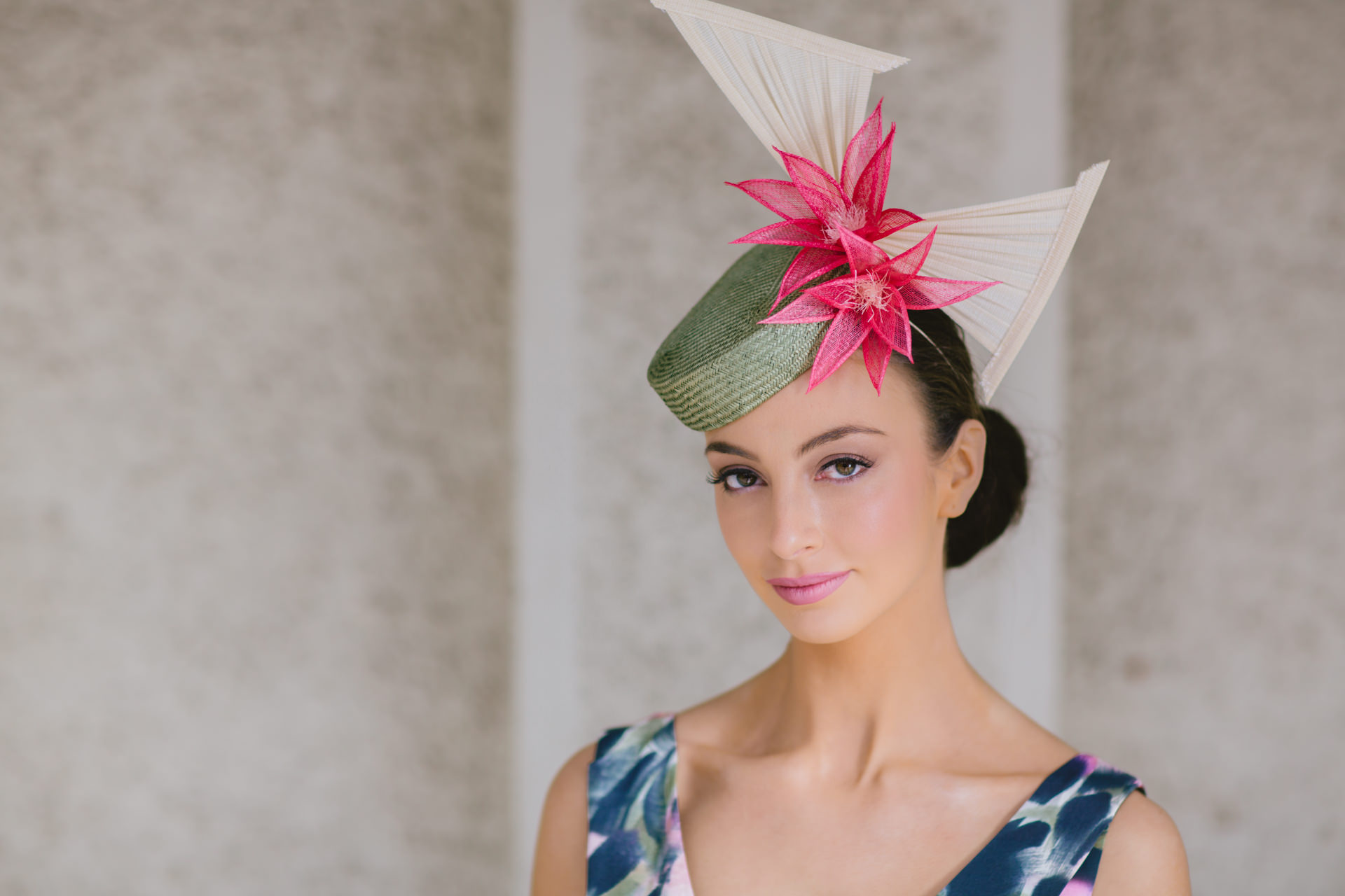millinery collection lookbook - model: alex hecker