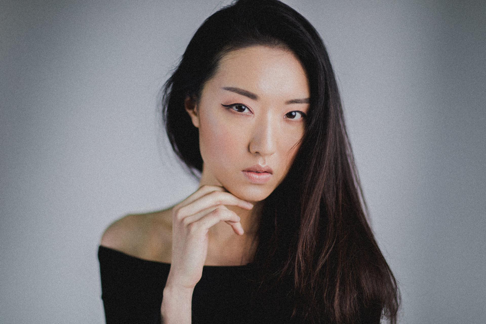 natural beauty photography in melbourne - black asian - stylish