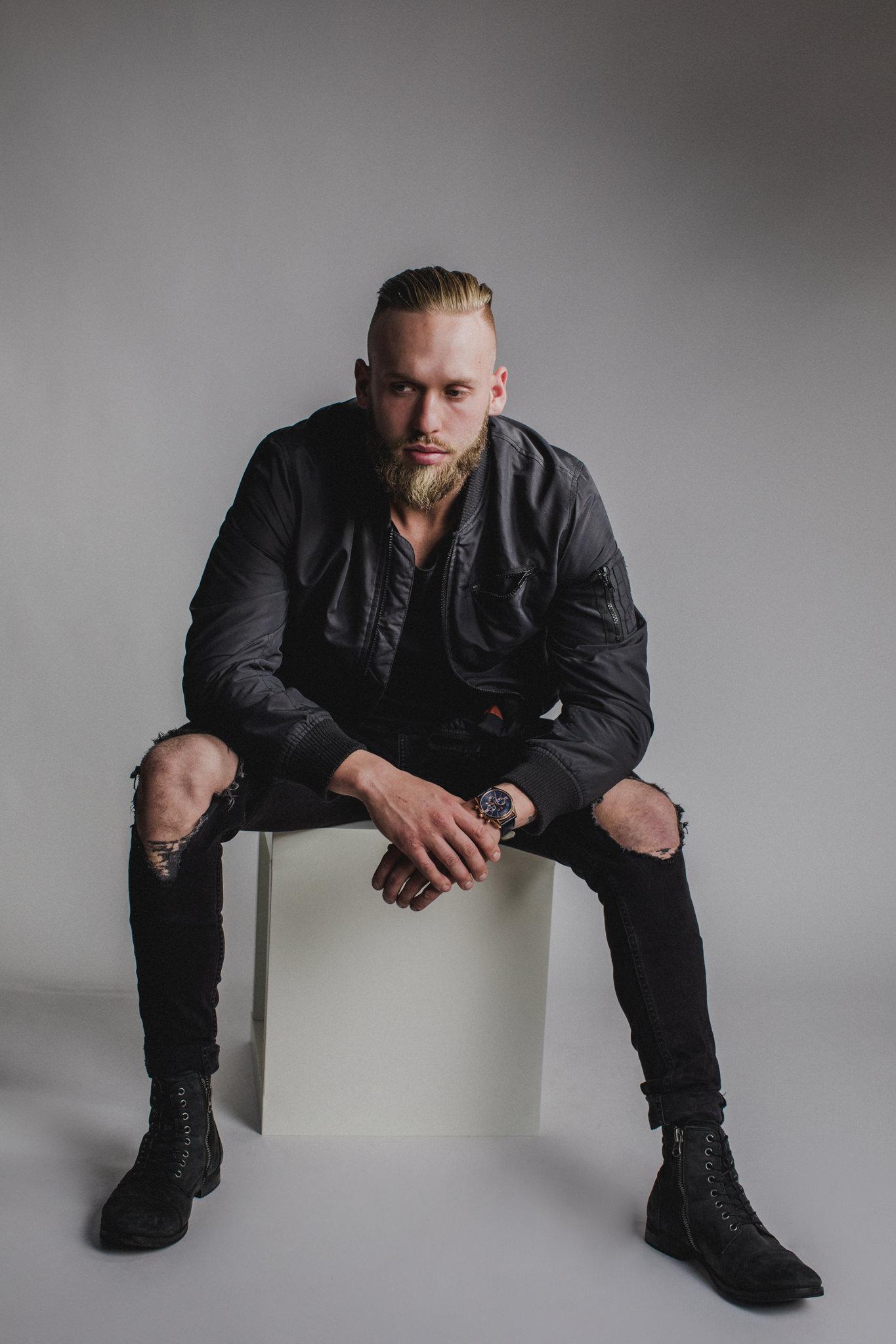 male studio portrait photography in Melbourne