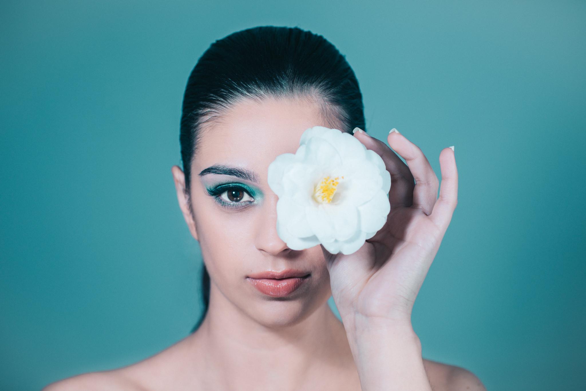Flower beauty portrait in Melbourne