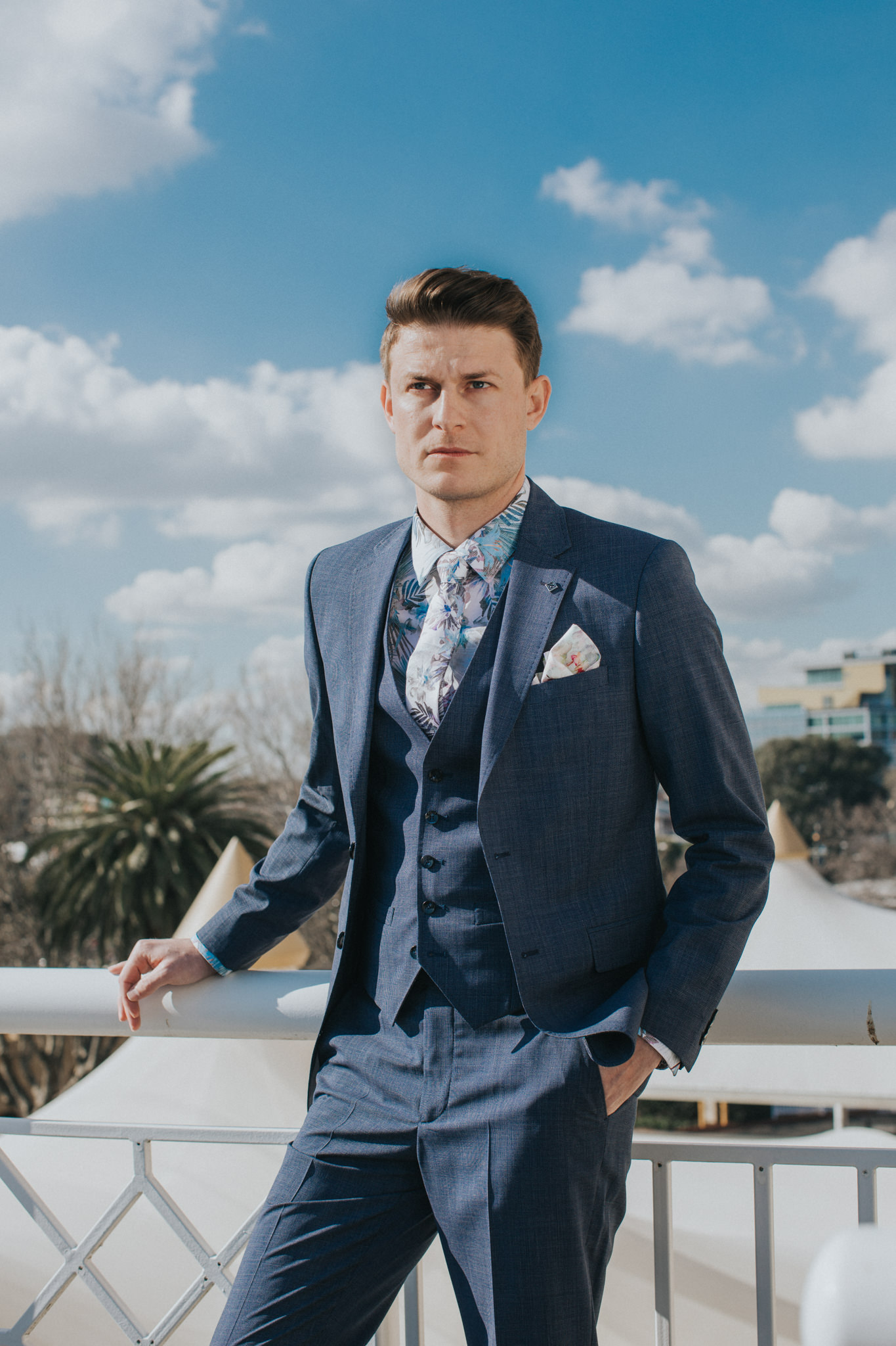 spring suit - editorial fashion photographer