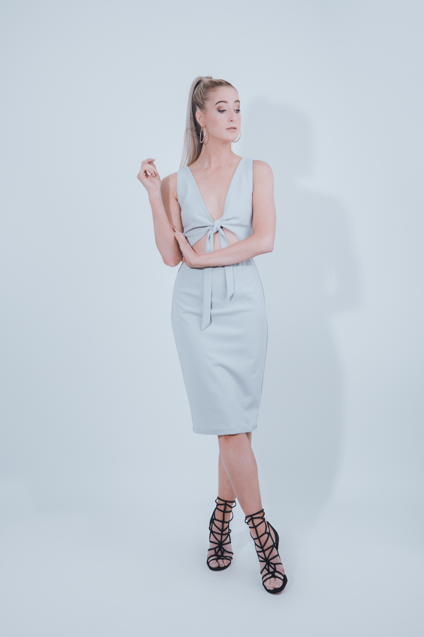 Photographing a lookbook for fashion label - outfits